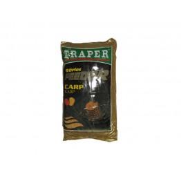 Прикормка TRAPER FEEDER 1 kг Karp (желтый)